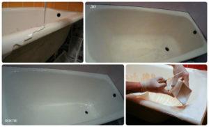 Реставрация ванн недорого