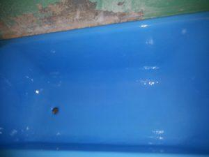 Восстановление ванны наливом